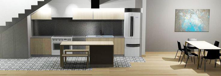 3DS Max render - www.carolinetissier.com - Caroline Tissier Intérieurs - private living room