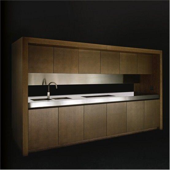 Elegant Wooden Kitchen