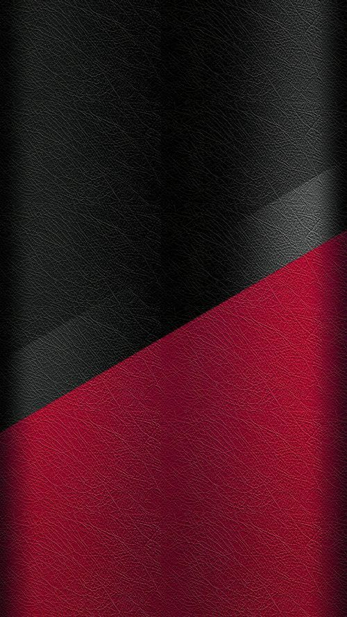 Dark S7 Edge Wallpaper 05 With Black And Red Leather