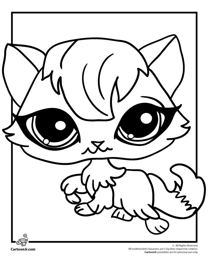 Pet Shop Coloring Pages Free - Free Printable Coloring Pages