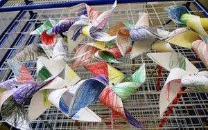 pinwheels for preschool weather lesson