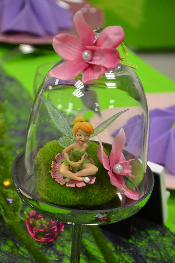 Decoration Fee Clochette Pour Gateau : Centre de table fée clochette tinkerbell party fête