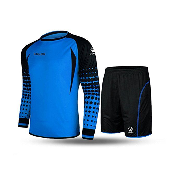 Kelme Football Goalkeeper Long Sleeve Suit Soccer Jersey Set Clothing Football Jersey New Jersey Footba Athletic Outfits Fall Football Outfit Football Outfits