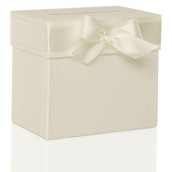 Sammelbox Mit Schleife   Ivory   Sweetwedding   Hochzeitskarten, Drucku2026  Ideen Hochzeit ...