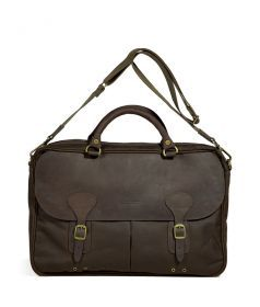 Barbour Wax Leather Briefcase Not a handbag, but something I'm more apt to use regularly