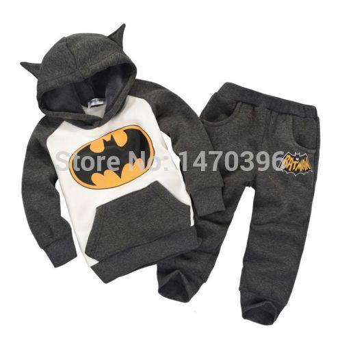 Bambini bambino ragazze ragazzi Batman top felpa con cappuccio abiti 2 7y tuta set in Nuovo senza tag: un marchio- nuovo, non utilizzati, e mai indossato voce(compresi oggetti fatti a mano), Che è non in orda Insiemi d'abbigliamento su AliExpress.com | Gruppo Alibaba