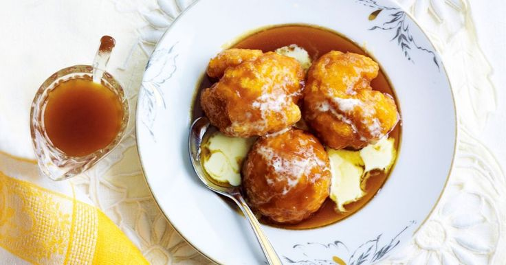 Golden syrup dumplings are easy to make and perfect for a cold winter's day.
