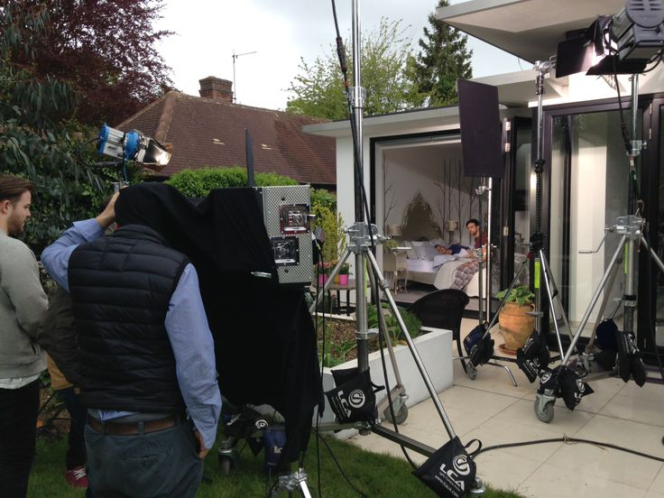 Behind the scenes filming the #modernman sequence for #anewspeciesofdoor
