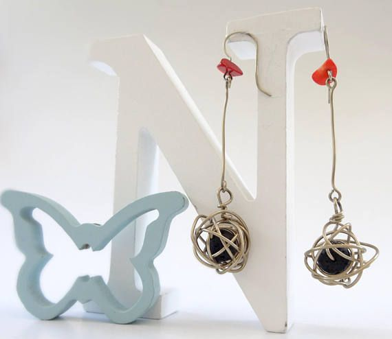 Silver Earrings Long Earrings Dangle Earrings Gift for
