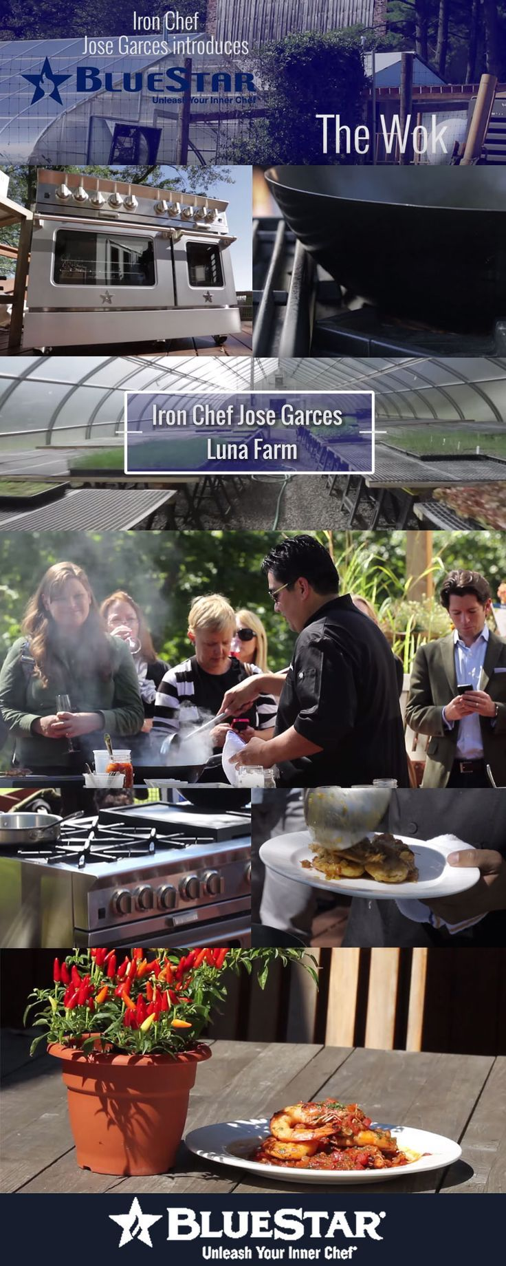 Luxury Lifestyle : Chef Jose Garces Introduces Wok Cooking. Click to watch his masterclass!