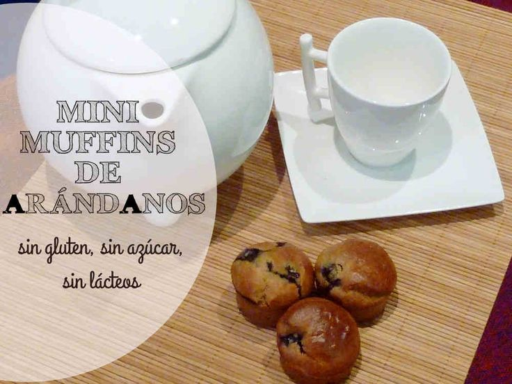 Receta: Mini Muffins de Arándanos