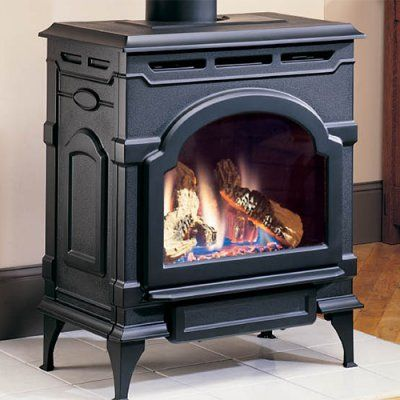 Majestic Oxford Direct Vent Gas Stove - NED217-3