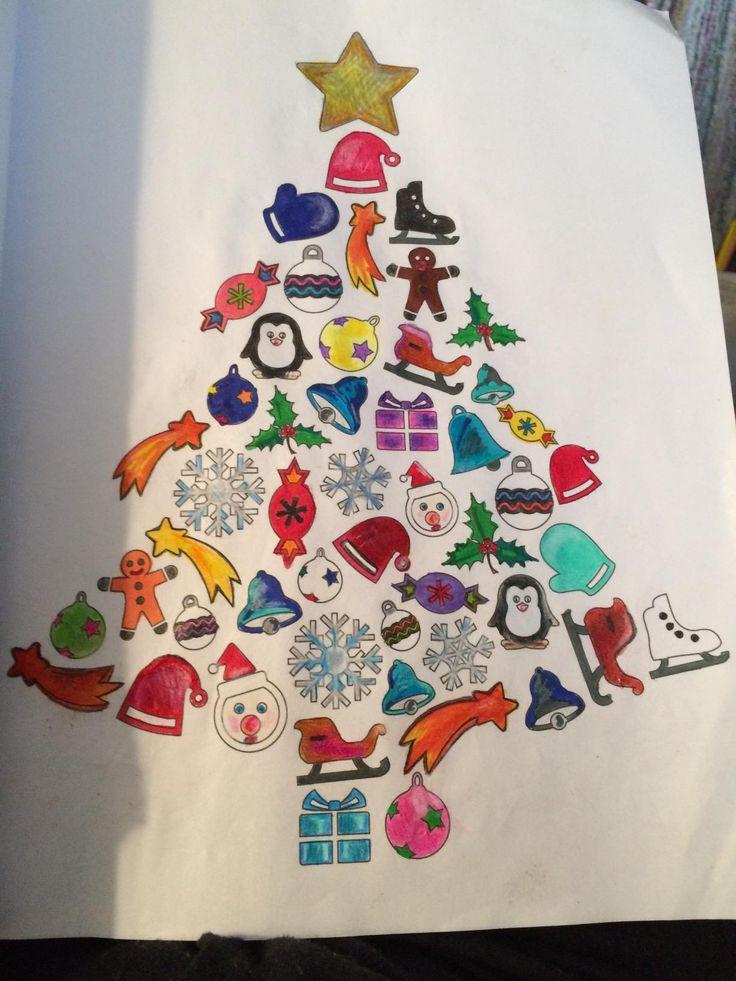 Amazon Adult Coloring Book Magic Christmas Cherina Kohey Books Love