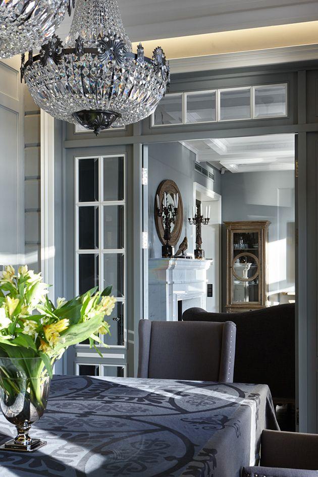 Замечательный дом из бруса в Подмосковье | Пуфик - блог о дизайне интерьера