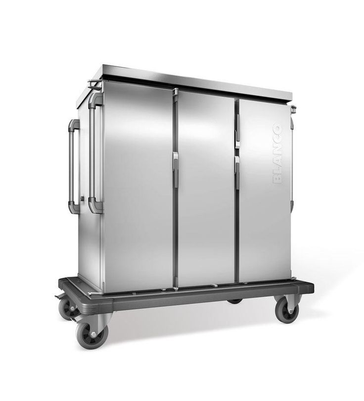 GTARDO.DE:  Tablettwagen 24 GN Tabletts, doppelwandig, 3 Flügeltüren, 3 Schränke, BxTxH 1419x783x1406 mm 3 494,00 €