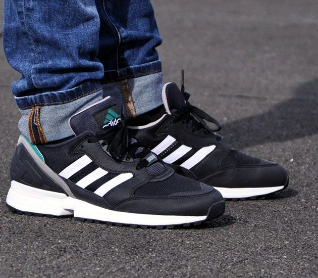 adidas EQT Support RF Primeknit White and Black Shoes at PacSun