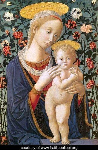 Madonna and Child 7 - Fra Filippo Lippi - www.frafilippolippi.org