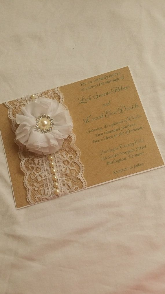 sample wedding invitation letter for uk visa%0A Rustic Chic Custom Wedding Invitations by Sincerely Couture Custom  Invitations        www sincerelycouture