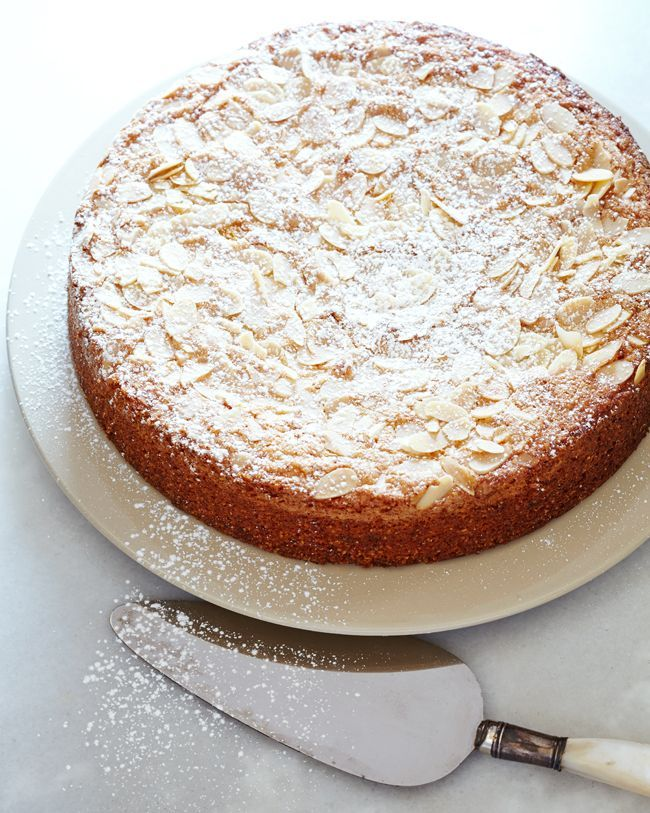 Almond Polenta Cake — Kitchen Repertoire