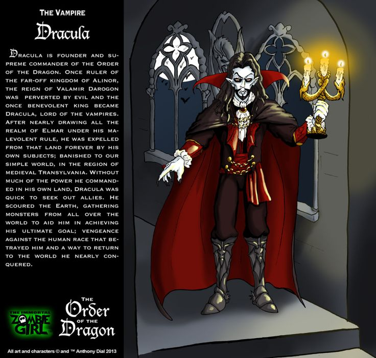 Vlad Dracula: King of the Vampires and Lord of the Order