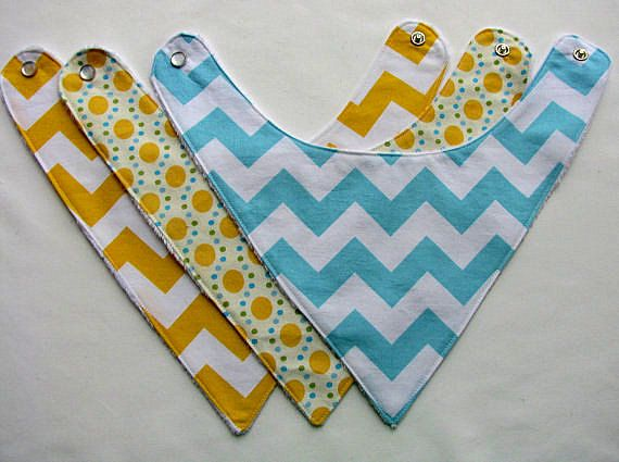 baby bandana bibs, perfect for the kid with the endless supply of drool