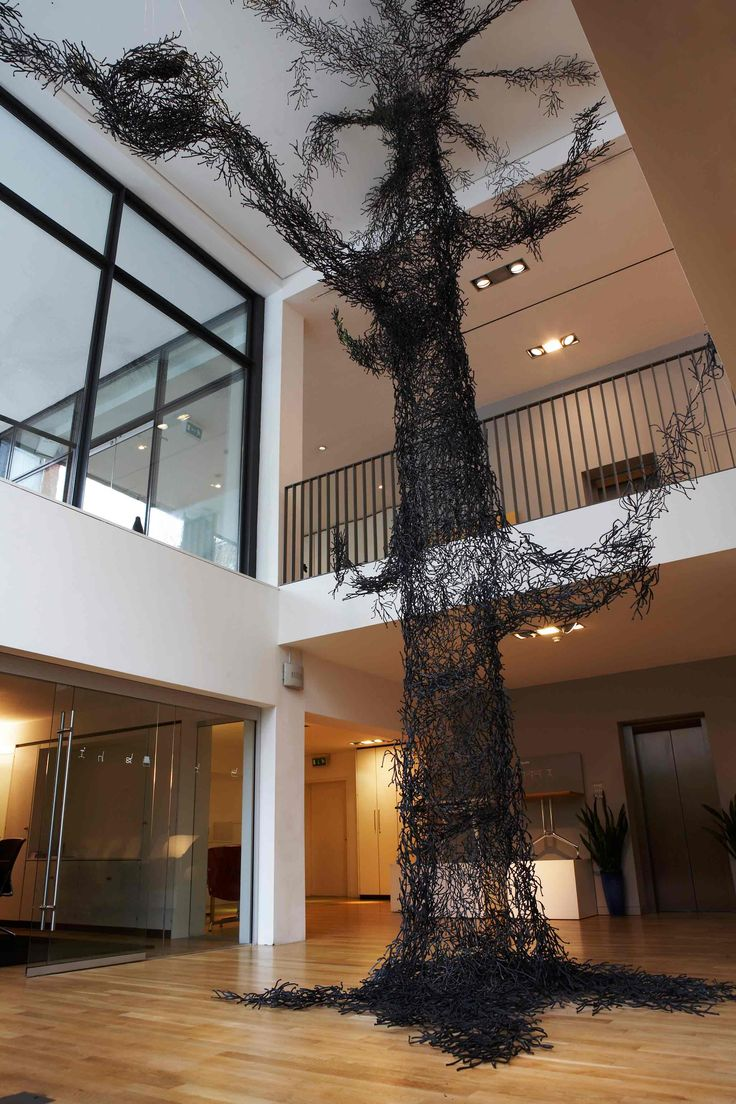 Vitra's spooky Algue tree! http://www.nest.co.uk/product/vitra-algue-wall-installation Image: Vitra UK.