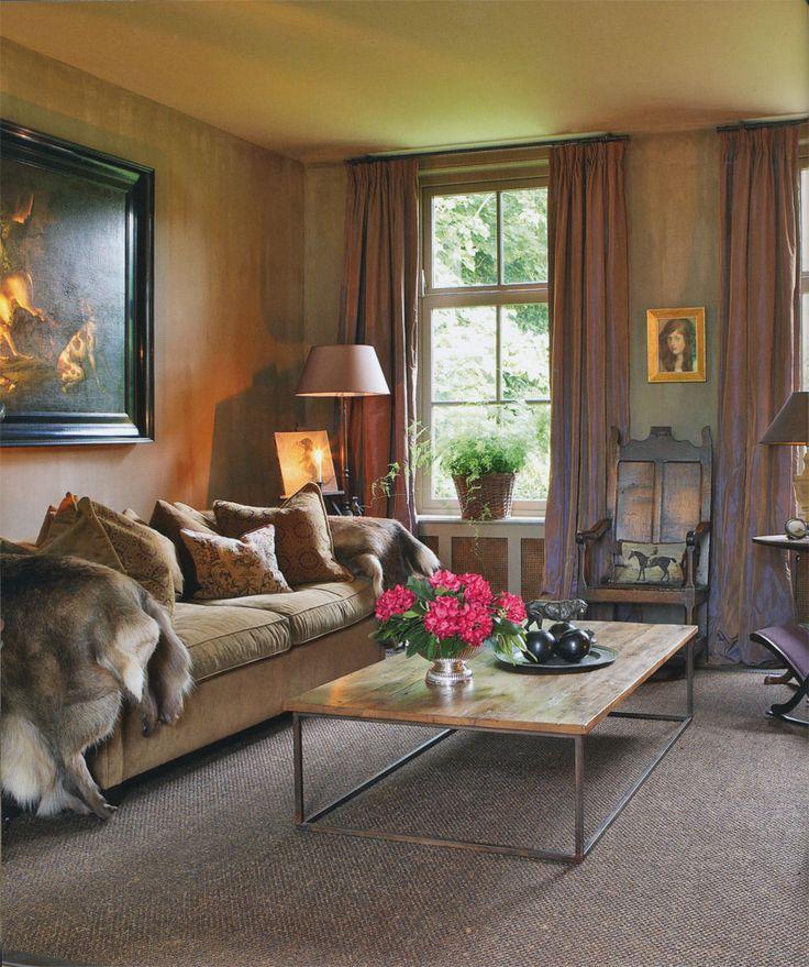 Elegant Classic Interior Livingroom Drawingroom Beatrix Kleuver Country Chic  Love This Book