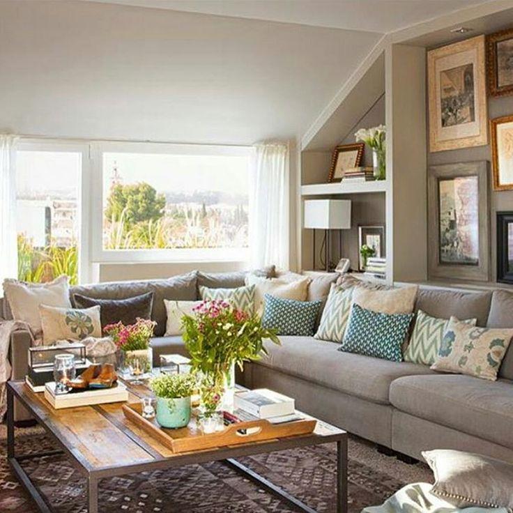 17 mejores ideas sobre casas exteriores grises en - Salones de estar ...