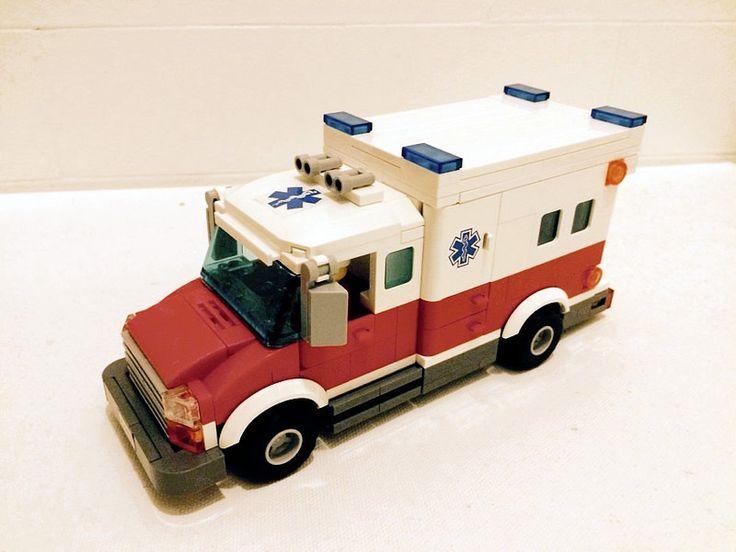Fire Department Ambulance #lego #ambulance #nyfd #brickadelics #brickfair