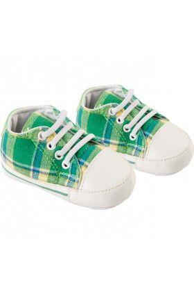 Baby kockás tornacipő
