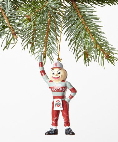 Take a look at this Ohio State Mascot Ornament by Oxbay on #zulily today!