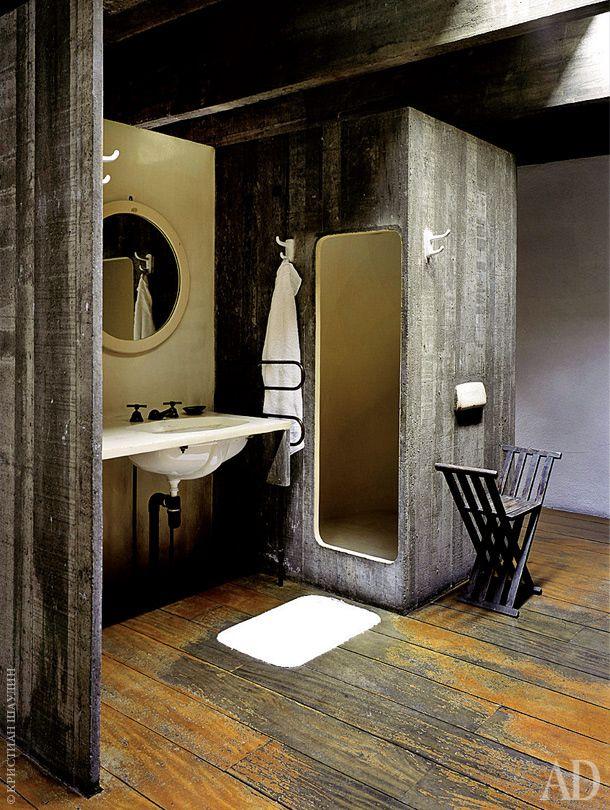 Дом-бункер архитектора Паулу Мендеса да Роши | Загородные дома в AD Magazine | Интерьеры в журнале AD | AD Magazine