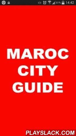 Maroc City Guide  Android App - playslack.com ,  Maroc City Guide a deux fonctions principales : ♦️ Un guide répertoriant les établissements des principales villes du Maroc classés par spécialité (shopping, restaurants, hotels, etc.)  ♦️ Un outil de promotion commerciale pour ces établissementsAvec Maroc City Guide, où que vous soyez à Marrakech, Casablanca, Rabat, Fes,.., ou en périphérie de ces villes, vous êtes informé de ce qu'il s'y passe : ♦️ une vente flash chez un