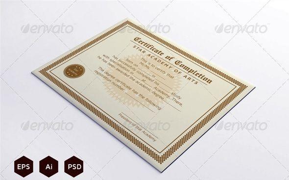 Best Certificate & Diploma Templates