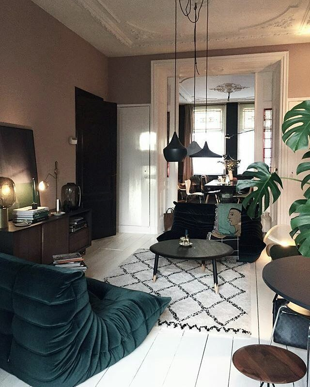 What S Hot On Pinterest 7 Bohemian Interior Design Ideas Home Interior Interior Design