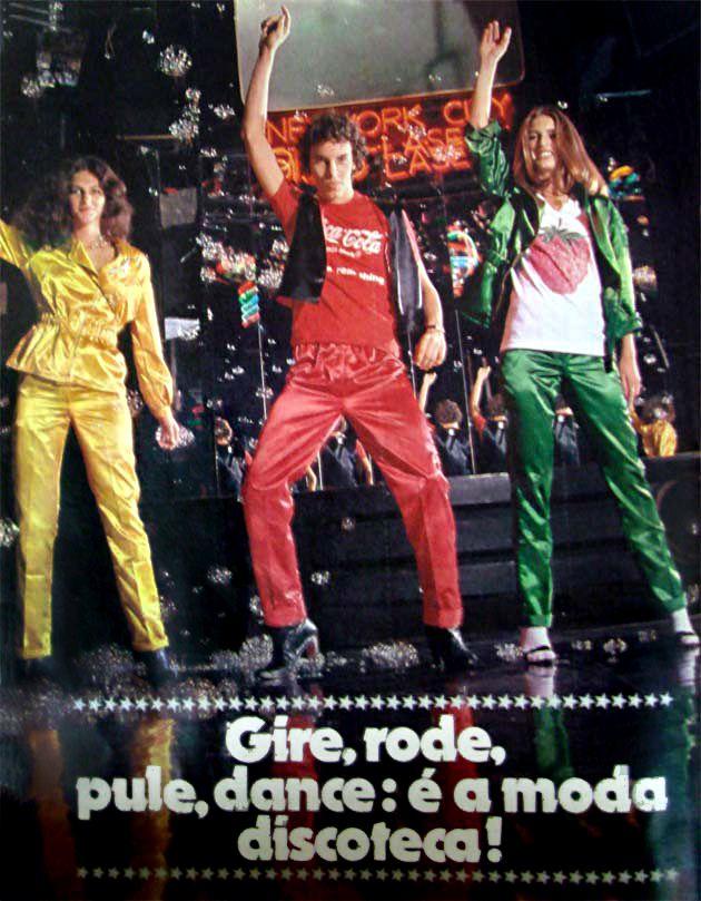 Anúncios anos 70 - Oswaldo Hernandez - Moda Disco - Revista Capricho - 1978