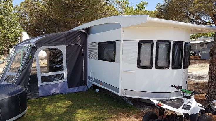 *Featured Listing* Used Touring Caravans For Sale In Marbella, Costa Del Sol, Spain. 2014 Hobby Landhaus 770 CFF Caravan For Sale On Camping La Buganvilla Caravan Park In Marbella, Costa Del Sol, S…