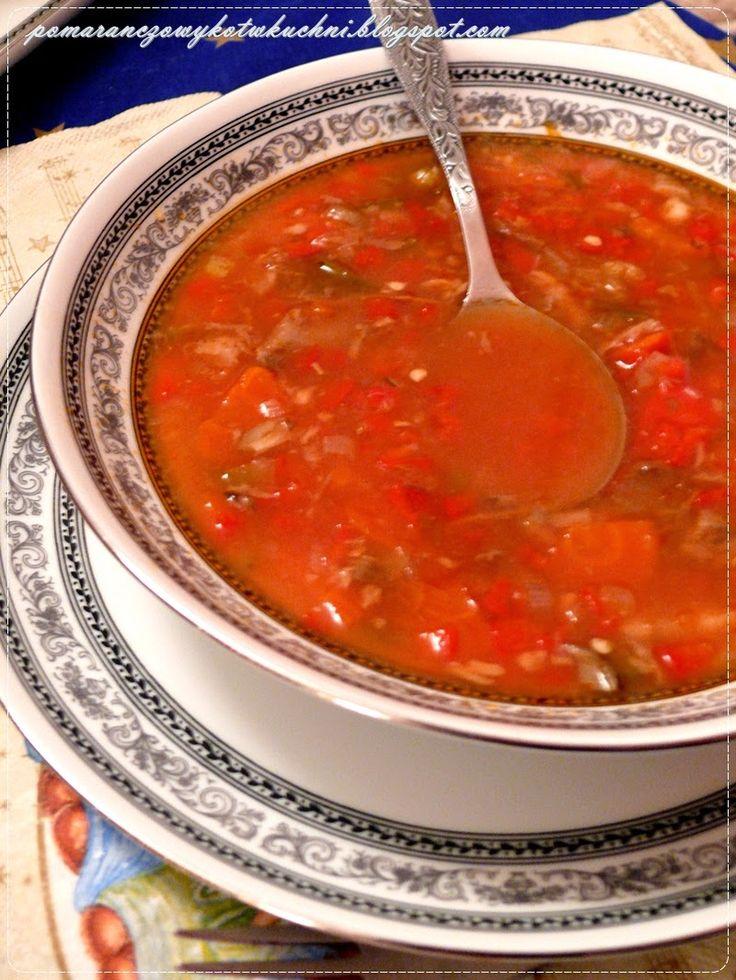 zupa rybna po węgiersku z karpia