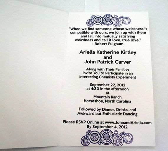 Nerdy wedding invitation wording 28 images lord of the rings invitations search wedding ideas receptions dr nerdy stopboris Image collections