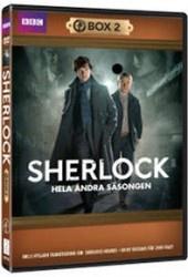 Recension av Sherlock - Säsong 2 med Benedict Cumberbatch, Martin Freeman, Rupert Graves, Lara Pulver, Andrew Scott och Mark Gattis.
