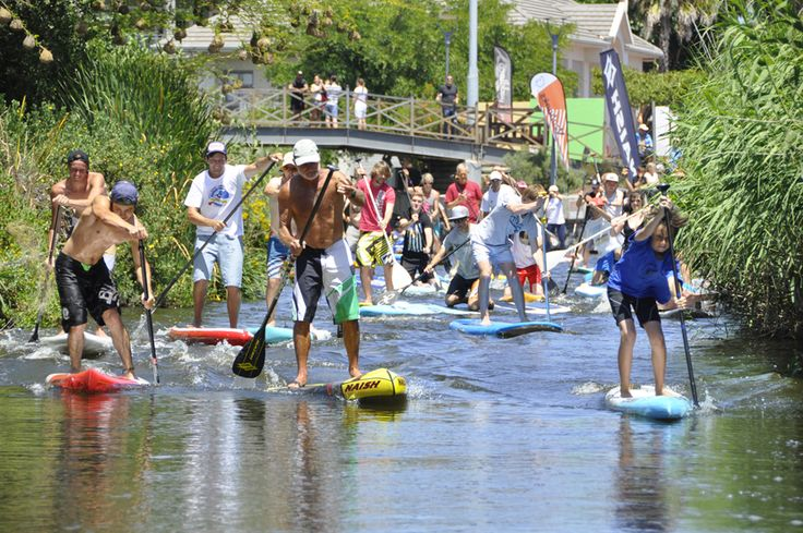 #Sup #CapeTown | We do it standing up!