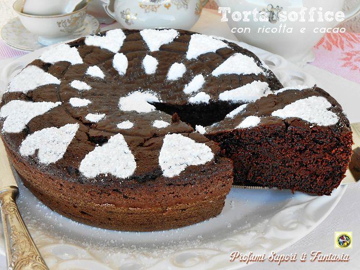 Torta soffice con ricotta e cacao