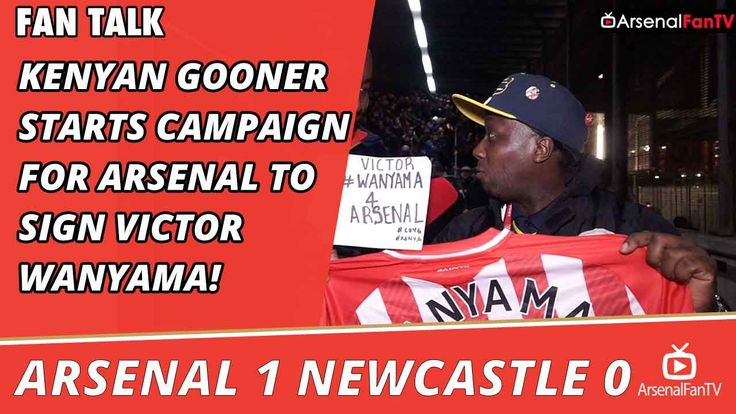 Kenyan Gooner Starts Campaign For Arsenal To Sign Victor Wanyama! | Arse...