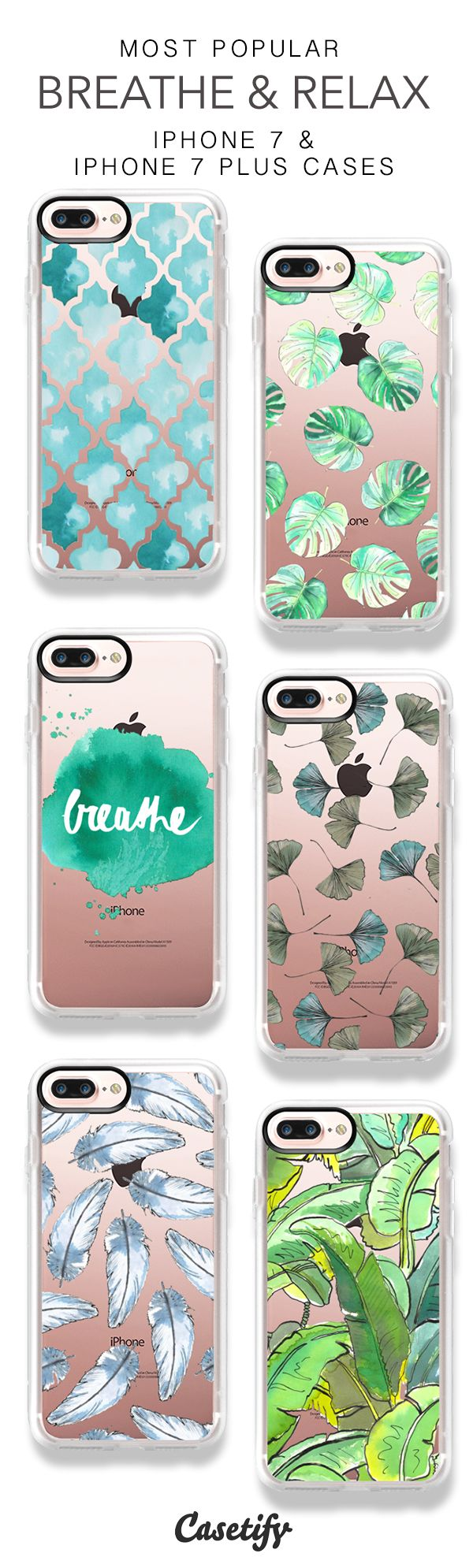 Most Popular Leaf iPhone 7 Cases & iPhone 7 Plus Cases here > https://www.casetify.com/en_AU/mariebodieillustrations/collection
