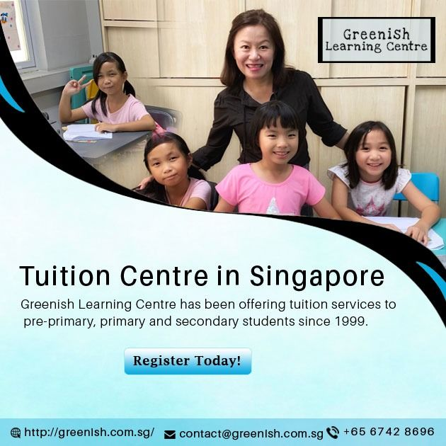 Tuition Centre In Singapore The Mission Greenish Learning Centre