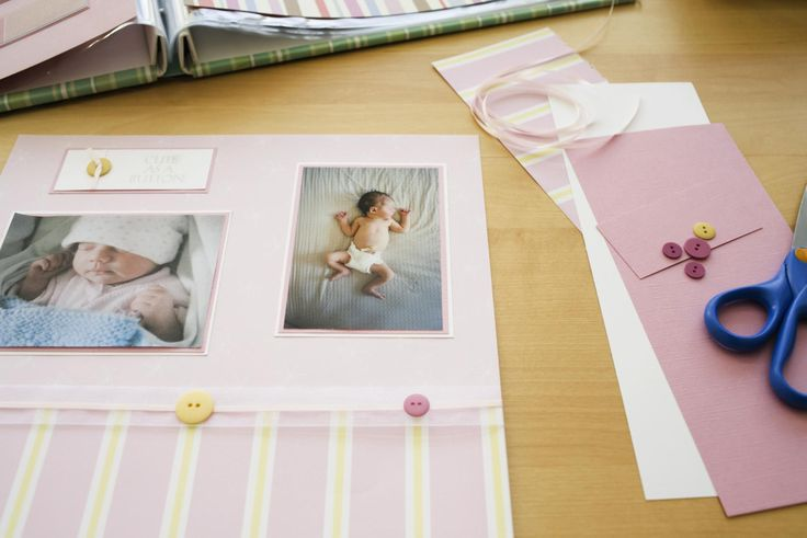 Learn how to create a baby scrapbook without spending a lot of time or money. Baby scrapbook freebies and kits make assembling a baby album quick and easy.