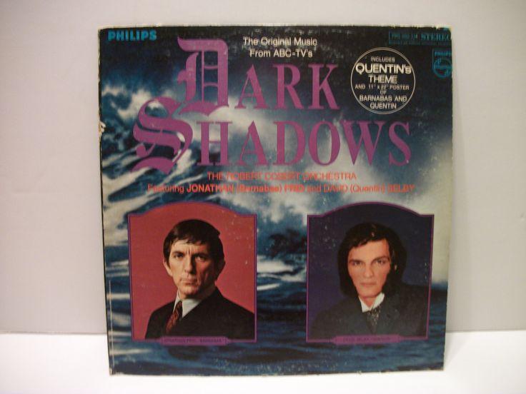 Vintage Dark Shadows TV Show Theme Music Vinyl LP- 1969 by Philips/ Mercury Records by TimsTimelessToys on Etsy