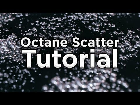 Octane Scatter Tutorial - C4D - YouTube