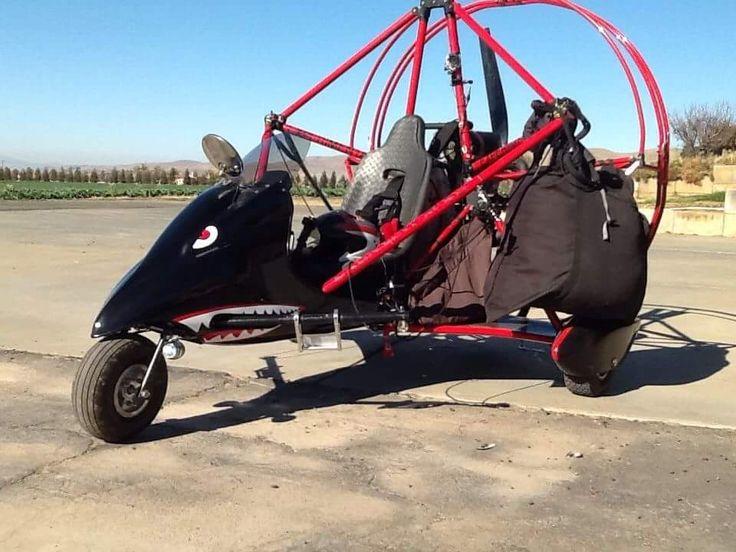 1998 Buckeye Dream Machine 503 located near Hollister CA United States => www.AirplaneMart.com/aircraft-for-sale/Parachute-Powered-Parachute/1998-Buckeye-Dream-Machine-503/13657/