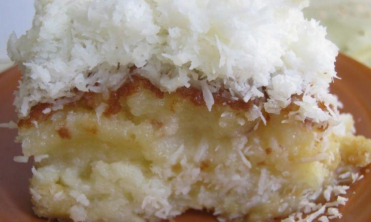Bolo gelado de coco – Prática e Moderna